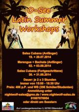 O-See Latin Summer Workshops